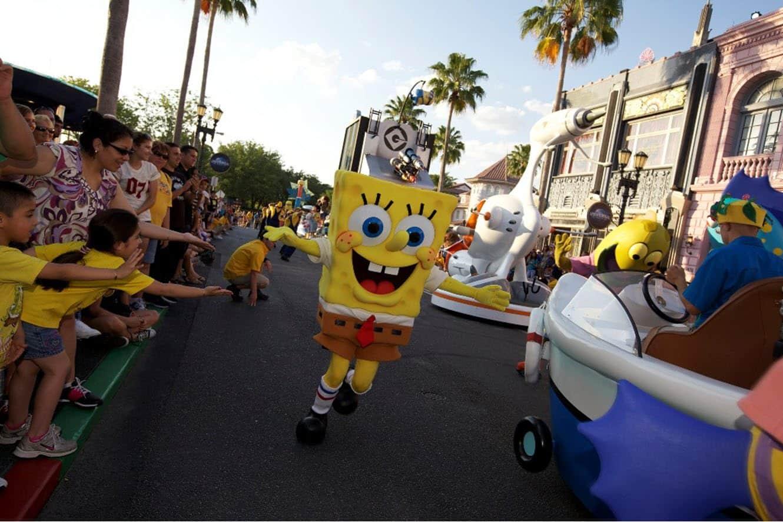 Universal's Superstar Parade - SpongeBob