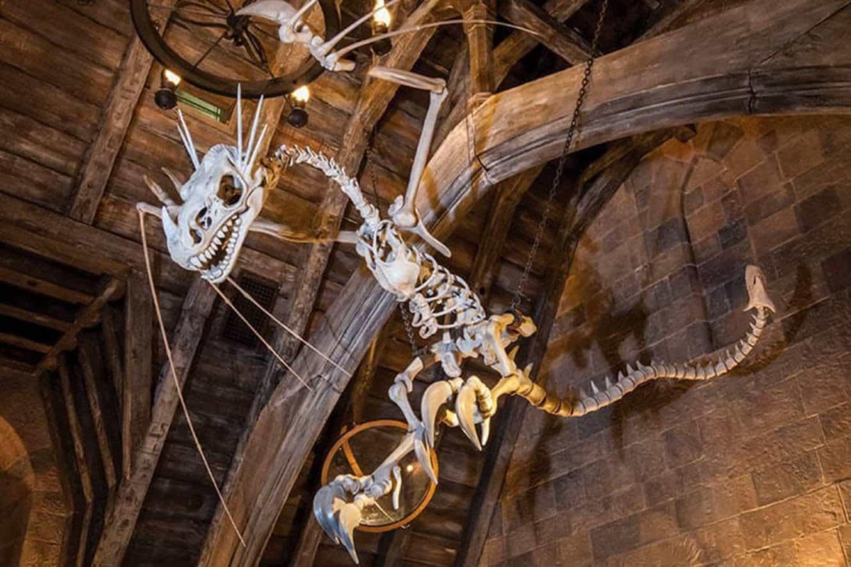 universal-orlando-forbidden-journey-ride-dragon-skeleton